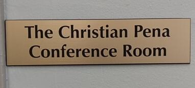 Christian Pena Plackard Cropped