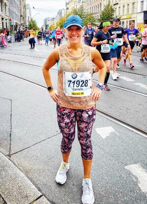 Danielle Post Race
