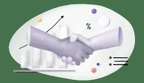 Unions handshake